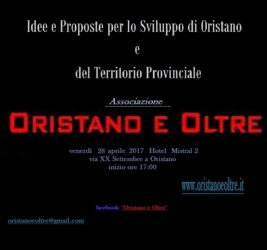 Più di mille persone seguono Oristano e Oltre.