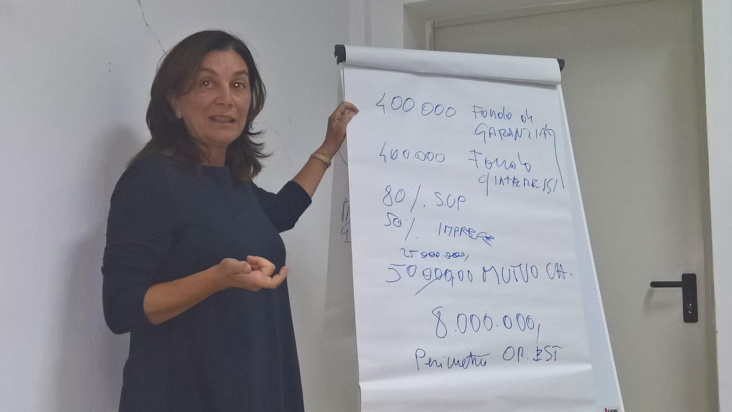 """Intervento di Giuseppina Uda nell'Evento Informativo """"Progetto Oristano est"""". Di Giuseppina Uda"""