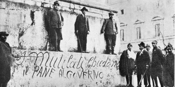 Il primo dopoguerra italiano del XXI secolo. Di Riccardo Scintu