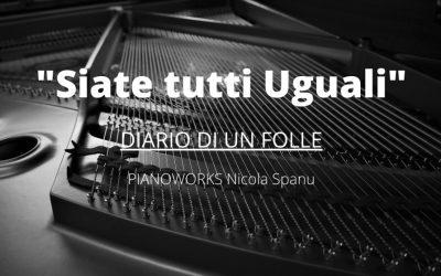 """""""Siate tutti Uguali"""" (monologo controintuitivo+ MUSICA)"""